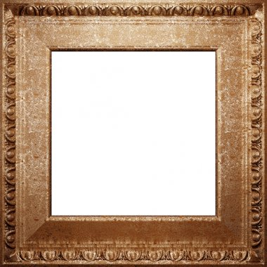 Metal antique frame