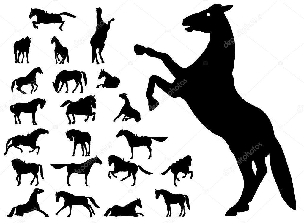 Horse (vector)
