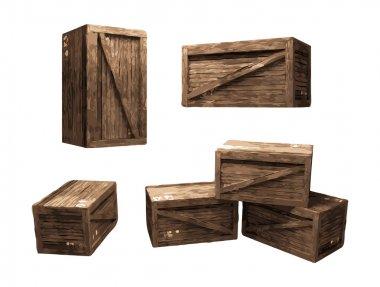 Wooden Crate (vector)