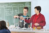 Fotografie Věda a chemie classees ve škole