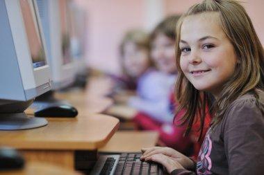 It education with children in school