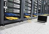 Fotografie Netzwerk-Server-Raum