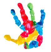 Farbe Kind Handabdruck