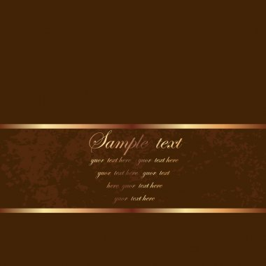 Brown card