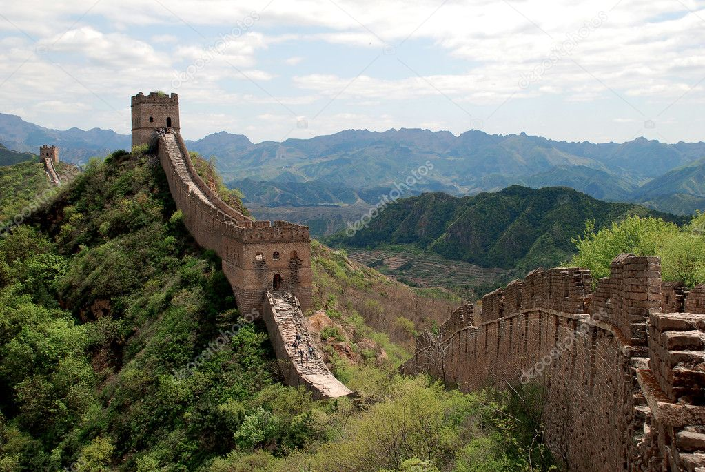 Great wall in Simatai