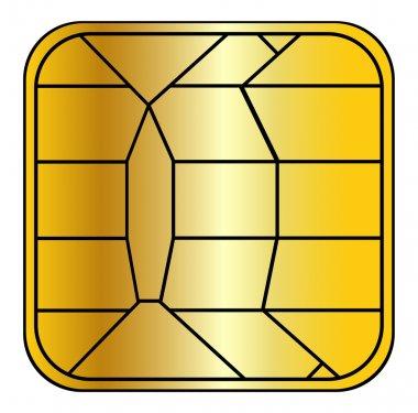 Creditcard chip