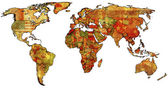 Morocco on world map