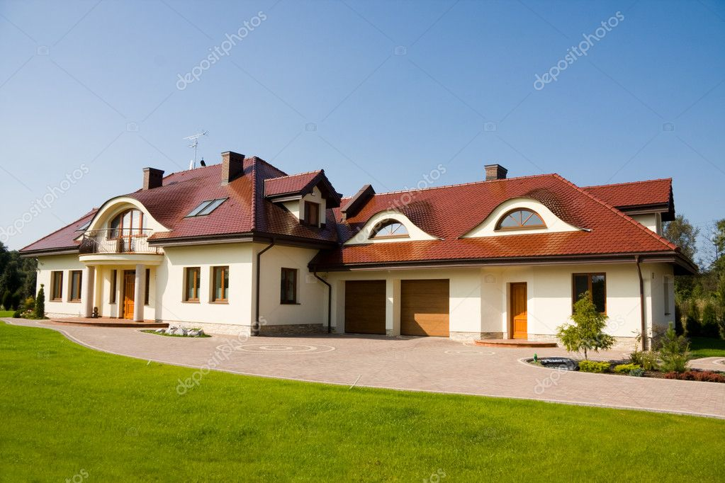 Tremendous Single Family Big House Stock Editorial Photo C Olechowski 3569572 Largest Home Design Picture Inspirations Pitcheantrous