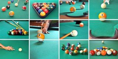Billiard game concept