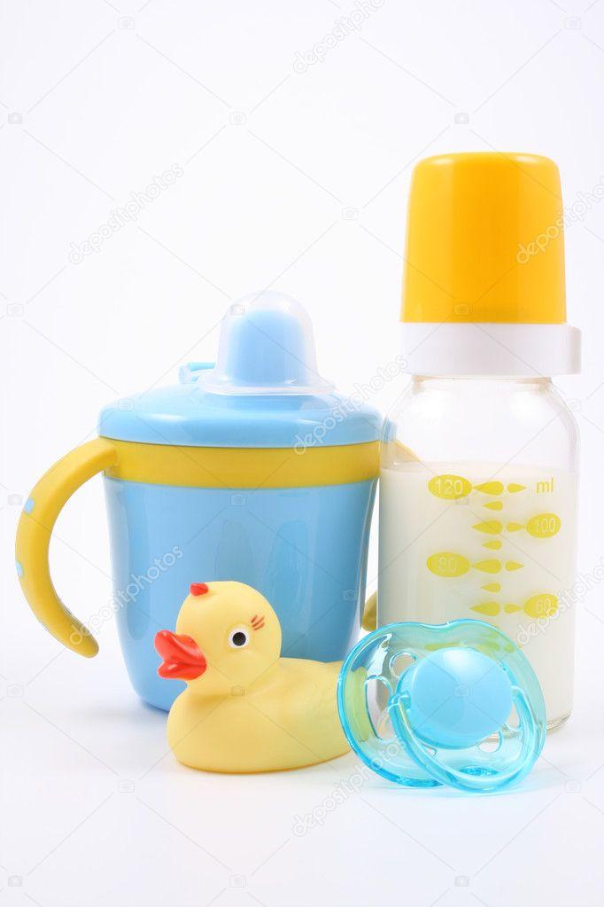 Spullen Voor Baby.Baby Spullen Stockfoto C Matka Wariatka 4616999