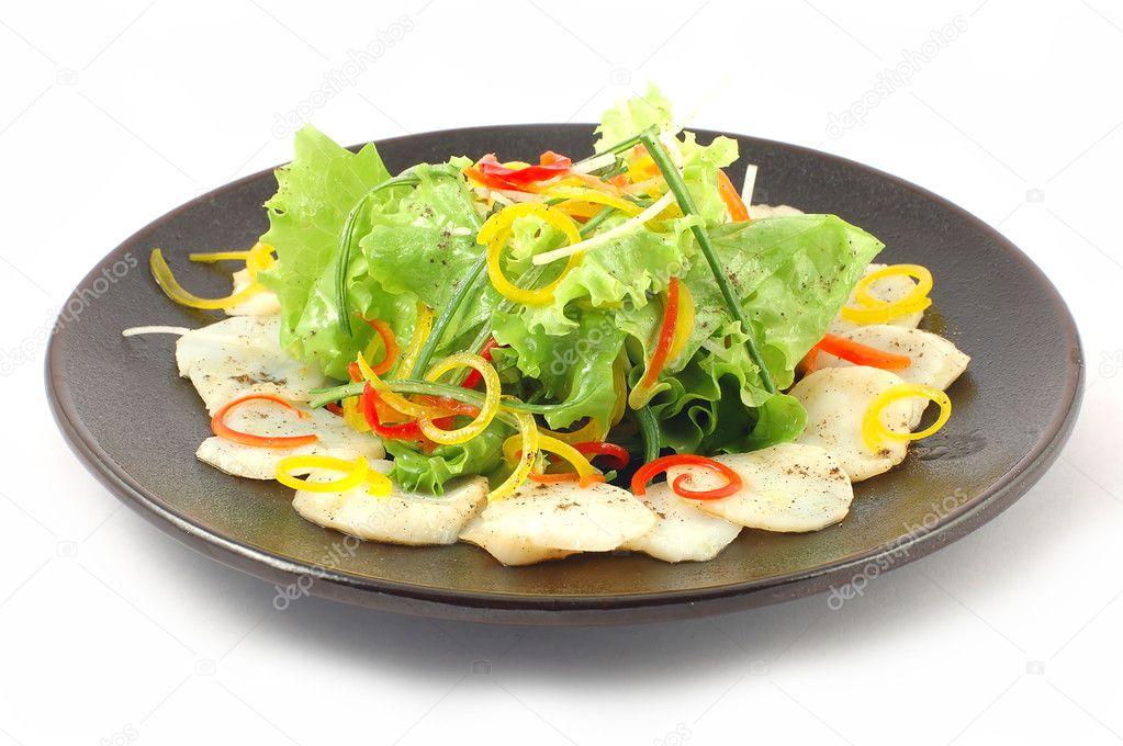Salade de poisson blanc photographie kosoff 3058915 for Salade poisson
