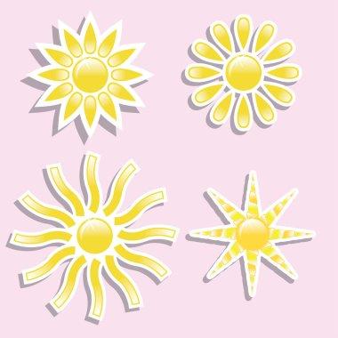 Universal icons -Set (Sun) for you