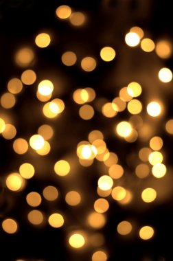 Gold spots bokeh background