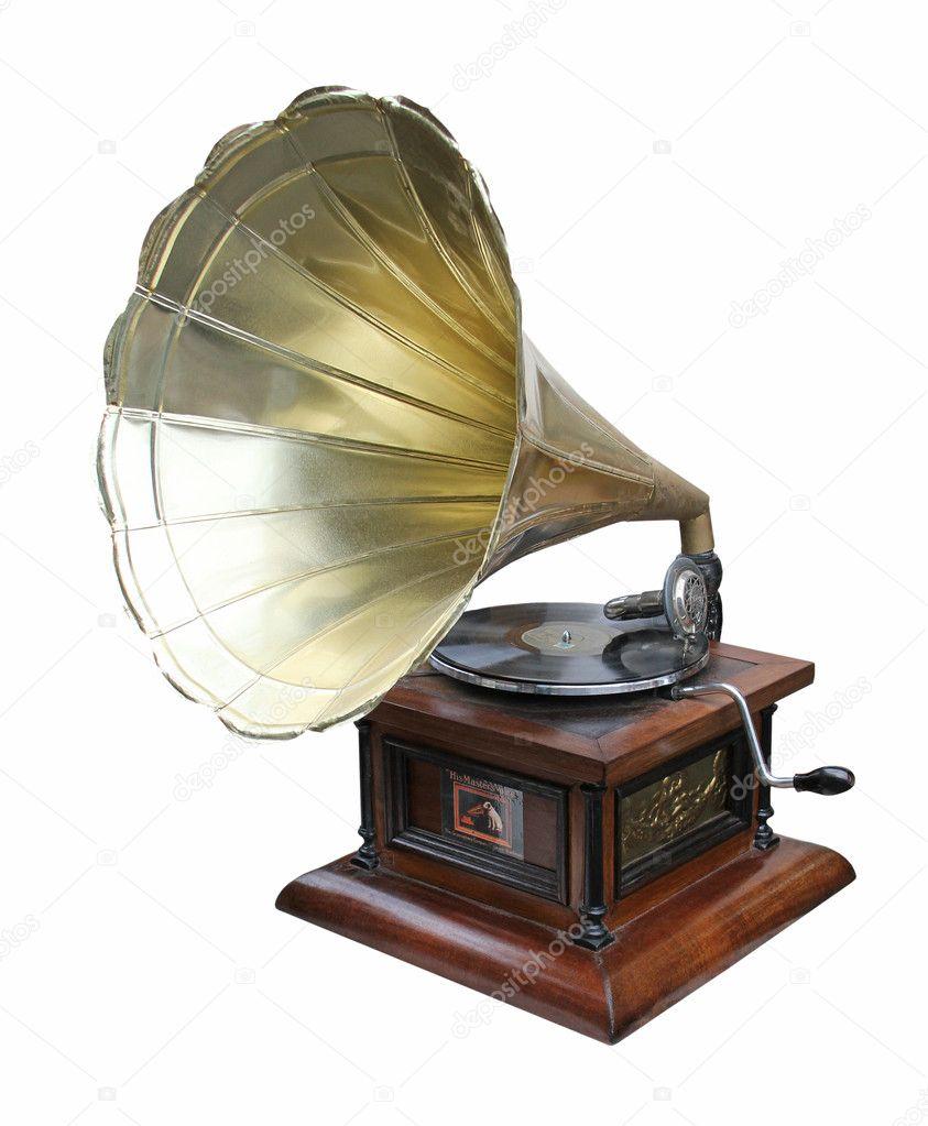 Скачать звук старого граммофона