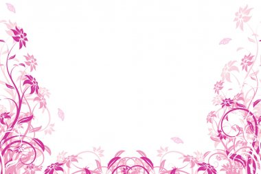 Flower background. Vector illustration
