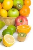 citron, kiwi a jiné ovoce
