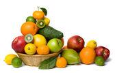 Fotografie zdravé ovoce izolovaných na bílém