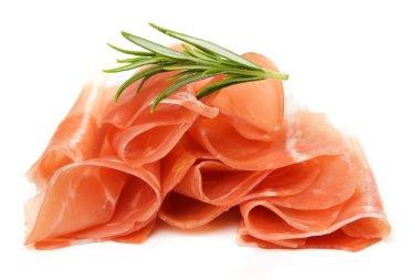 Prosciutto, italian cured ham