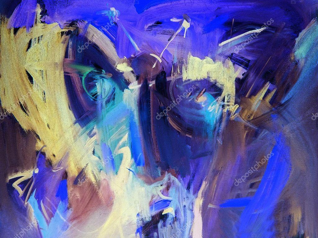 Dipinti astratti blu foto stock tadija 2795364 for Immagini dipinti astratti