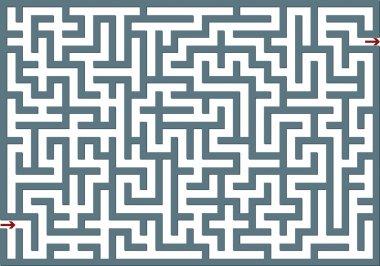 Gray labyrinth