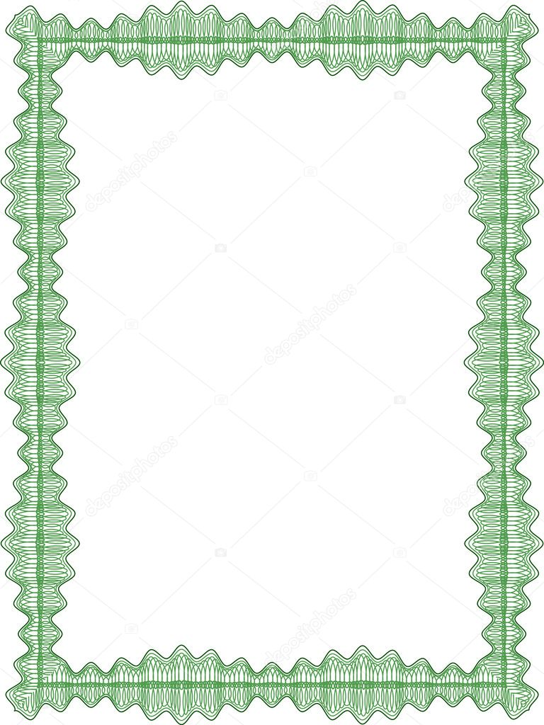 classic guilloche border for diploma or certificate stock vector rh depositphotos com certificate border vector cdr certificate border vector cdr