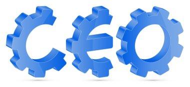 CEO - Content Engine Optimization illustration stock vector