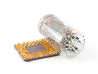 CPU and Vacuum tube