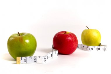 Apples and measuring band