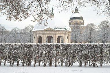 Winter Scene of the Hofgarden