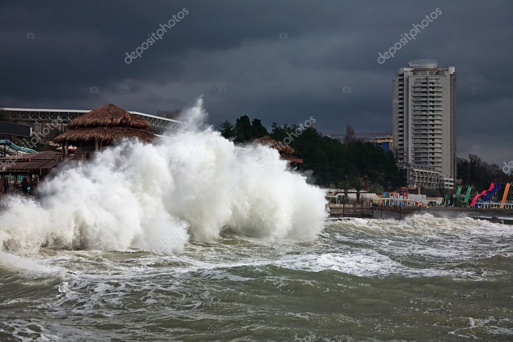 Storm, City of Sochi