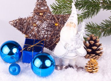 Chrsitmas decoration - blue