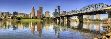 Portland Oregon Downtown Skyline Panorama