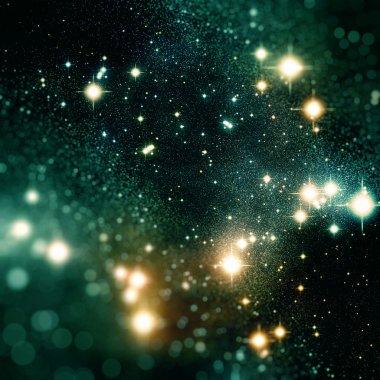 красочный фон звезд