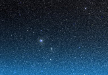 Beautiful night sky with stars