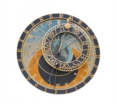 Astronomical clock-design element