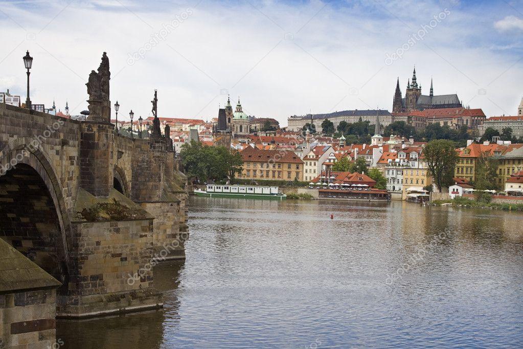 Vista of Prague