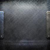 Stříbrné kovové textura