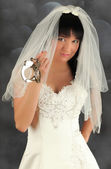 Photo Bride with handcuffs