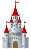 Fotografie Fairy-tale castle