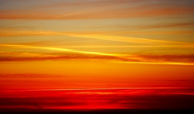 Sky After sunset - background
