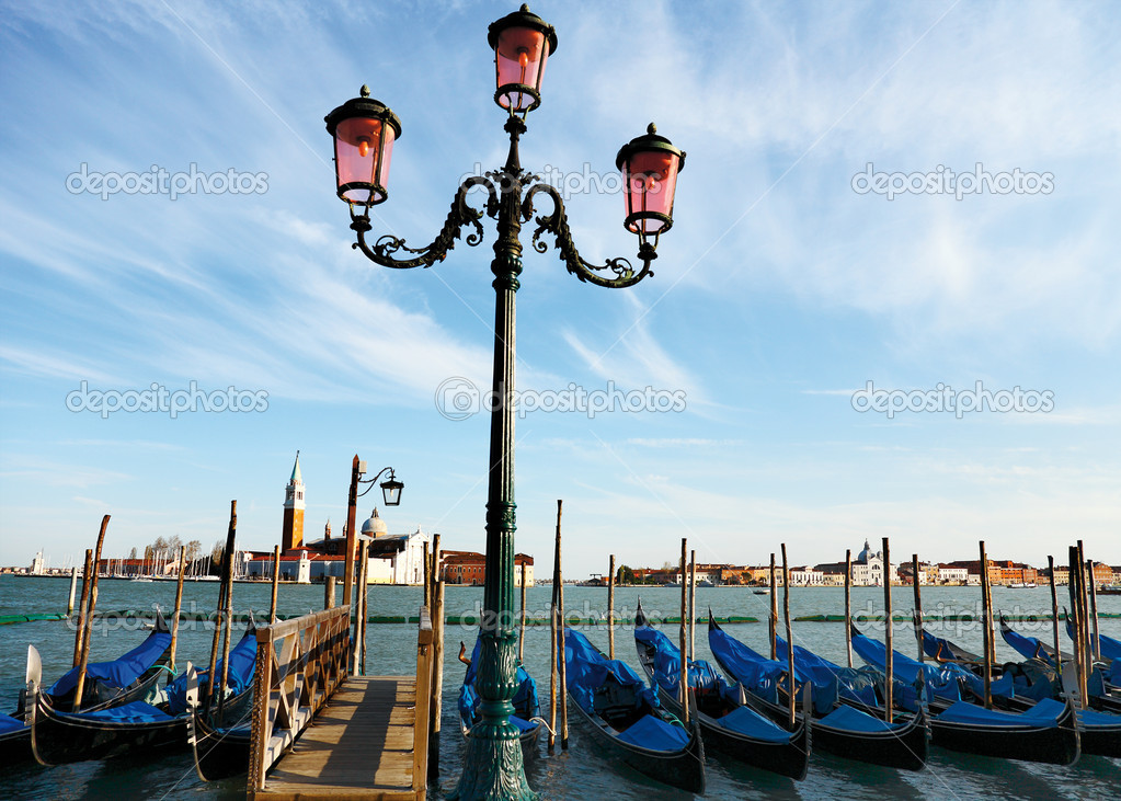 Venice - romantic, tourist town in Italy