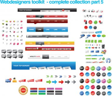 Webdesigners toolkit collection