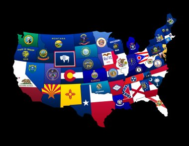 States of the US