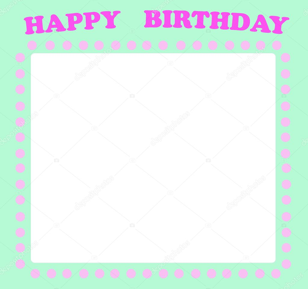 Happy birthday card with empty place for your text stock photo happy birthday card with empty place for your text stock photo bookmarktalkfo Choice Image