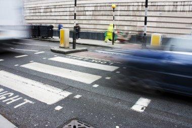 Zebra crossing or pedestrian crossing