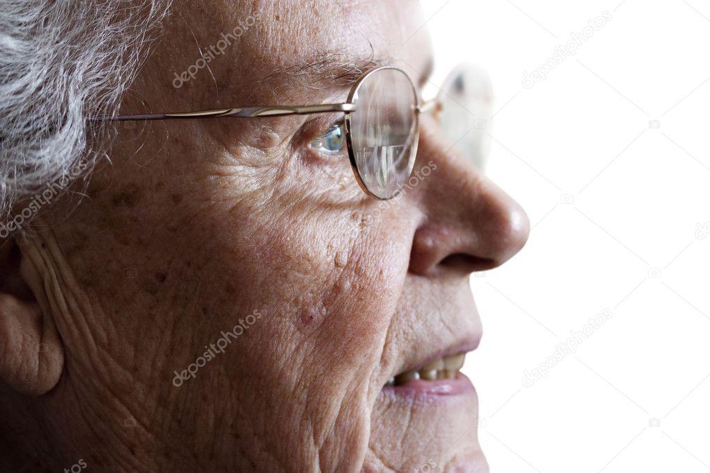 фото пожилая дама