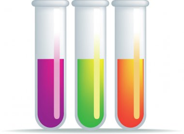 Test tube illustration