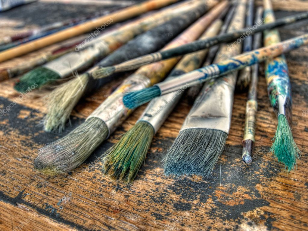 Painter's brushes