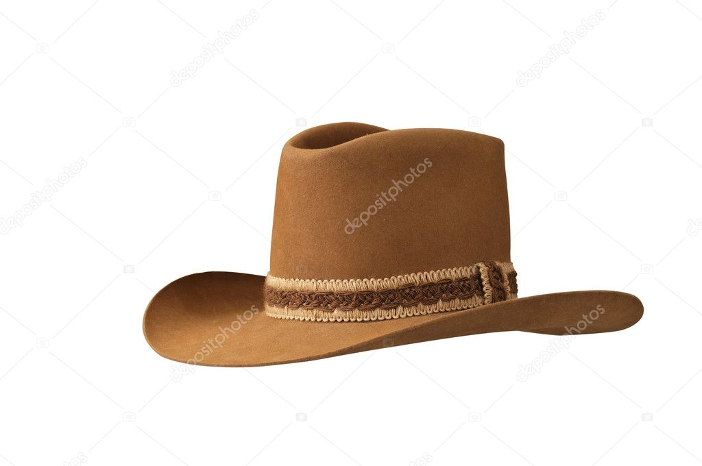 dc648c36eb5 American cowboy hat isolated with a clipping path — Photo by rcarner