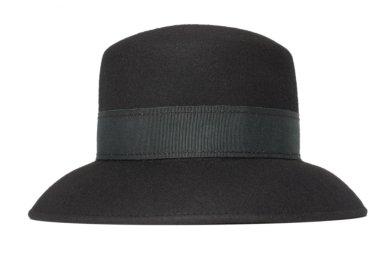 Classic black women's hat